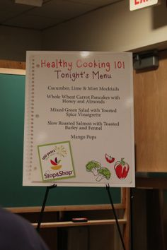end tonight! enter to win a $25 gift card to stop n shop  Healthy Cooking 101 with Stop & Shop Recipe and Giveaway! {Sponsored Post} | Peace, Love, and Food