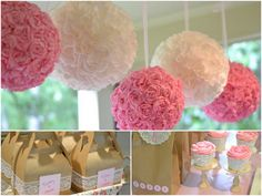 Ruffles and Roses Girl Birthday Party 6