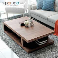 Contemporary High End Furniture Centre Table Living Room, Table Decor Living Room, Center Table, Centre Table Design, Sofa Table Design, Wooden Coffee Table Designs, Wooden Sofa Designs, Table Furniture, Furniture Design