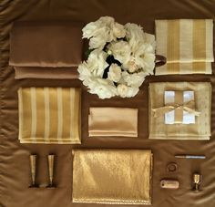 Golden Gold Tablecloths, Gift Wrapping, Gifts, Gift Wrapping Paper, Table Linens, Presents, Table Clothes, Wrapping Gifts