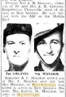 1943 Greaves and Manskie