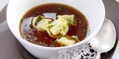 Tortelloni in bouillon Chili, Ethnic Recipes, Food, Chile, Essen, Meals, Chilis, Yemek, Eten