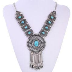 Turquoise Arazz Necklace