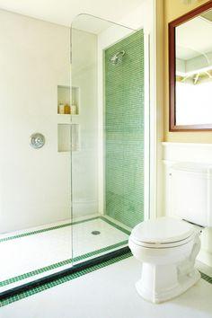 Pictures of Dazzling Showers | DIY Bathroom Ideas - Vanities, Cabinets, Mirrors & More | DIY