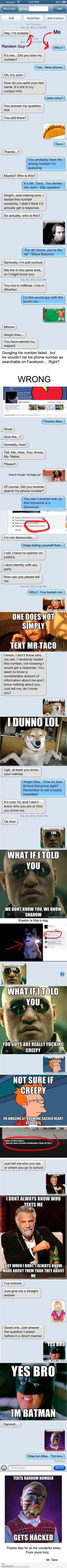 Wrong number troll | LOLBRARY.COM