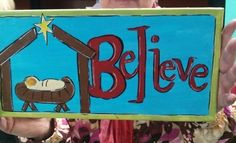 At this house we certainly believe!
