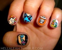 Rocko's Modern Life Nails