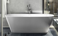 Vetralla 2   Large modern freestanding tub   Victoria + Albert USA