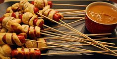food on a stick, for guys