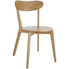 Buy Habitat Sophie Pair of Oak Dining Chairs at Argos.co.uk - Your Online Shop for Dining chairs.