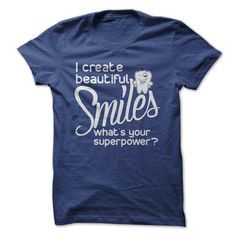 I create beautiful Smiles! - #shirt ideas #ugly sweater. PURCHASE NOW => https://www.sunfrog.com/No-Category/I-create-beautiful-Smiles-NavyBlue-18803932-Guys.html?68278
