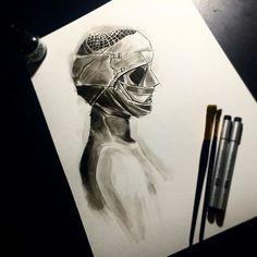 Goodnight Mommy // Ich Seh Ich Seh  #illustration #ink #wop #worldofpencils #ichsehichseh #goodnightmommy #horrormovies #horror #sketch #darkart #winsorandnewton #worldofartists #sketchdaily #imaginationarts #artofvisuals #arts_help #artsanity #aov #chile #wip