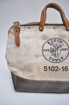 What our Klein bags look like after years of abuse!