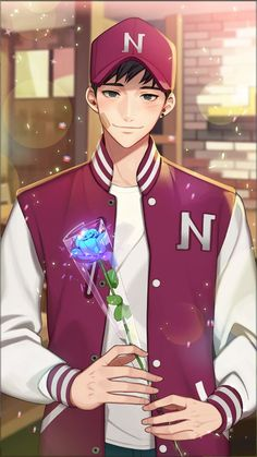 Otome game Loved by King Bs Memory album nineteen's album Chapter 2 - Boys Love Manga Fans Hot Anime Boy, Anime Sexy, Cute Anime Guys, I Love Anime, Anime Boys, Anime Chibi, Kawaii Anime, Manga Anime, Anime Art