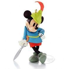Hallmark Keepsake Disney Mickey Mouse Brave Little Tailor Ornament Boxed NIB NEW #HallmarkKeepsake