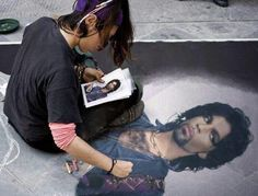 Outstanding! Art work of Prince.