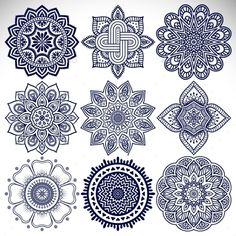 Ornament beautifulcard with mandala. Geometric circle element made in vector