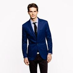 Single-button Ludlow sportcoat in chino - Unconstructed Ludlow Sportcoats - Men's sportcoats & vests - J.Crew