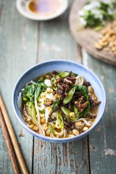 Dan Dan Noodles | DonalSkehan.com, These spicy Asian noodles will put a pep in your step.
