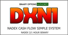 Simple easy to trade style of NADEX 1 hour binary option system. Yes as soon as the overlap starts happening you have a one-hour NADEX in the 2 hours binary option expiration. You can trade this for the NADEX 2 hour binary option on Forex or the the stock indices. Check it out our track record sample below what we use. Forex may even work better. DXN1 and DNXN1 Turbo is a powerfully solid system where we took an older souper Salad, the new discovery. Allows you to just simply hammer away doing d