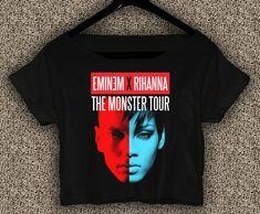 Eminem+x+Rihanna+T-Shirt+Monster+Tour+Crop+Top+Eminem+x+Rihanna+Crop+Tee+ER01