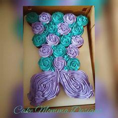 Mermaid Tail Pull Apart Cakes In 2019 Pinterest Mermaid Tail
