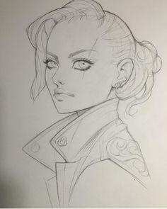 | lagunaya | Cool Art Drawings, Drawing Sketches, Pencil Drawings, Portrait Sketches, Cartoon Drawing Tutorial, Cartoon Girl Drawing, Reference Manga, Sketches Of Girls Faces, Character Art