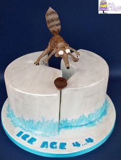 Scrat will you ever get the nut? - Cake by M&G Cakes