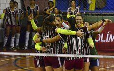 Na seletiva para Superliga, Fluminense volta a sonhar com vaga na elite #globoesporte