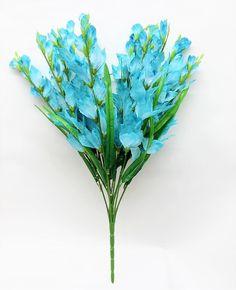 12 Gladiolus Bush Artificial Flowers