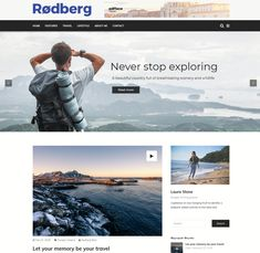 Blog Websites, Never Stop Exploring, Page Layout, Traveling By Yourself, Blogging, Scenery, The Incredibles, Explore, Layout