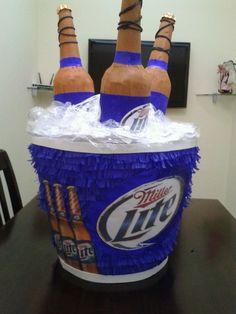 Piñata adultos cervezas