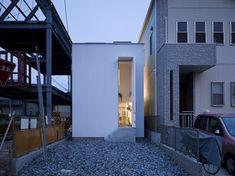 Otra obra de los arquitectos japoneses Suppose Design Office y otro ejemplo de arquitectura japonesa contemporánea muy particular.