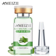 AMEIZII Aloe Vera Original Liquid Face Skin Care Day Creams Moisturizers Remover Anti-aging Acne Whitening Serum Essence Cream