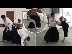 Dealing with a front kick attack in Aikido