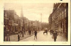 De Melkmarkt te Zwolle in 1925 (collectie HCO)