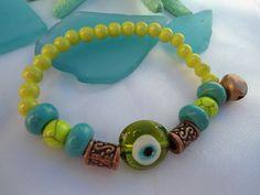 SALE GYPSY'S AMULET Bracelet Karma Bracelet Turkish by Nezihe1, $16.00
