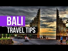 Bali Travel Tips - 9 Tips for 1st timers to Bali - Bali Travel Guide - YouTube