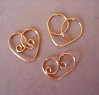The Beading Gem's Journal: How to Make Bead and Wire Hearts for Jewelry