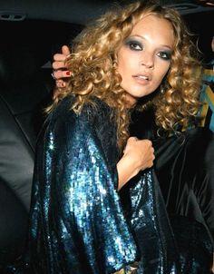 Kate Moss - curls