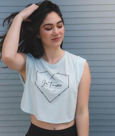Cropped Tees and Hoodies - Covet Dance Cute Girl Outfits, Dance Outfits, Ice Blue Color, Dancers Body, Alternative Outfits, Girls Be Like, Crop Tank, American Apparel, Bobby Pins