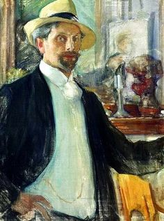 Leonid Pasternak   Self-Portrait, 1908, Pskov State United Historical and Architectural Museum, Russia
