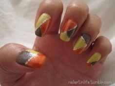 (N)ail (A)rt (I)n (L)ife - Thanksgiving Nails