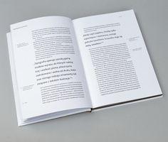 Przestrzeń w typografii | Space in typography by Bartek Wiłun, via Behance