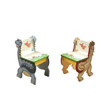 Teamson Kids Dinosaur Kingdom Set of 2 Chairs