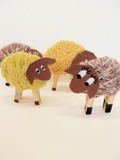 Jednoduché fotonávody pro práci s dětmi :: Tvoření Jesus Lamb, Diy Crafts For Kids, Arts And Crafts, Sunday School, Easter, Halloween, Children, Spring, Creative