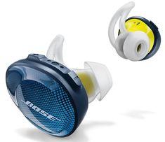 Bose in-ear bluetooth sport koptelefoon soundsport free blauw/geel In Ear Headset, Wireless In Ear Headphones, Sports Headphones, Iphone Headphones, Music Headphones, Workout Headphones, Oreillette Bluetooth, Scrappy Quilts, Buttons