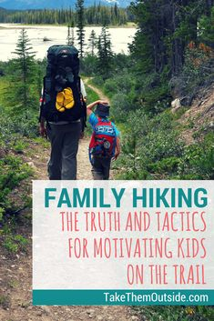 The absolute best tips for hiking with kids gathered from expert and experience outdoor hiking families. Learn how to keep kids happy & moving on the trail! Camping Club, Family Camping, Camping Gear, Camping Hacks, Outdoor Camping, Outdoor Travel, Backpacking Gear, Diy Camping, Backpack Camping