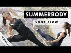 Summerbody Vinyasa Yoga Flow | Ganzkörper Workout für Bauch Beine Po Rücken - YouTube