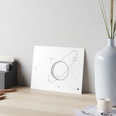 ll lostlines is an independent artist creating amazing designs for great products such as t-shirts, stickers, posters, and phone cases. Simple Illustration, Poster Wall, Wood Wall Art, Framed Art Prints, Make It Yourself, Circles, Art Work, Solar, Minimal